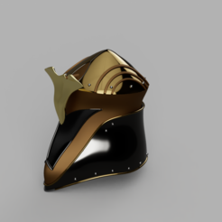 3D printer models heroic fantasy helmet, micaldez