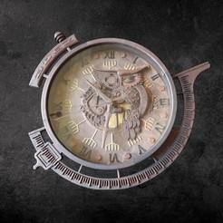 20200506_105539.jpg Télécharger fichier STL horloge hibou • Design à imprimer en 3D, micaldez
