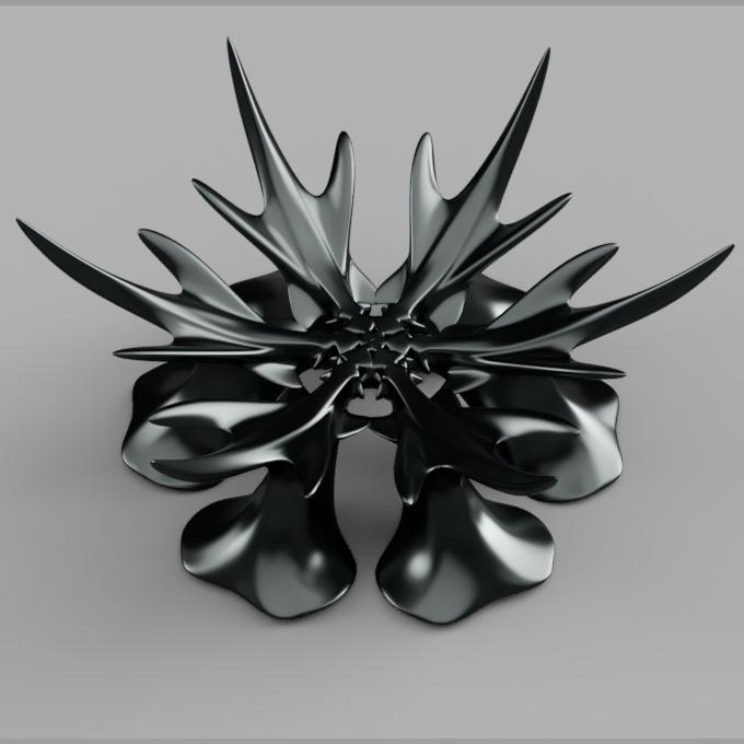 corbeille_flocon.png Télécharger fichier STL gratuit corbeille flocon de neige • Modèle à imprimer en 3D, micaldez