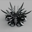 Télécharger modèle 3D gratuit corbeille flocon de neige, micaldez