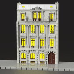 hotel.PNG Download STL file Parisian hotel • 3D print object, micaldez