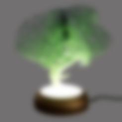 Descargar archivos STL gratis lámpara banzai, micaldez