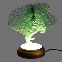 Télécharger objet 3D gratuit lampe banzaï, micaldez
