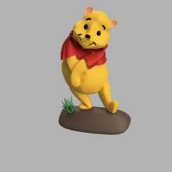 winnie.png Download STL file winnie • 3D print template, micaldez