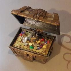 STL treasure chest, micaldez
