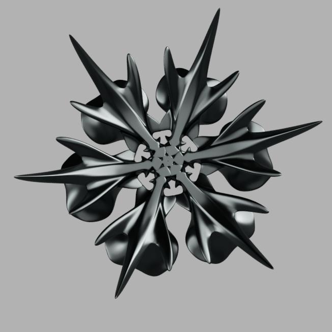 corbeille_flocon 2.png Télécharger fichier STL gratuit corbeille flocon de neige • Modèle à imprimer en 3D, micaldez
