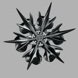 Download free 3D printing files snowflake basket, micaldez