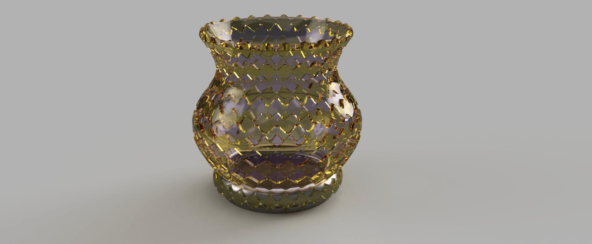 vase_ecailles 4.png Télécharger fichier STL gratuit vase écaille • Design pour imprimante 3D, micaldez
