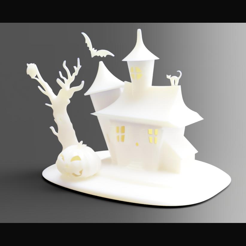 Download Stl File Halloween Decoration 3d Printable Model Cults