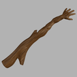 Download free 3D printing files Back scratcher branch, micaldez