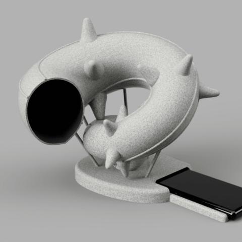 acoustophone.png Télécharger fichier STL gratuit accoustophone • Plan à imprimer en 3D, micaldez