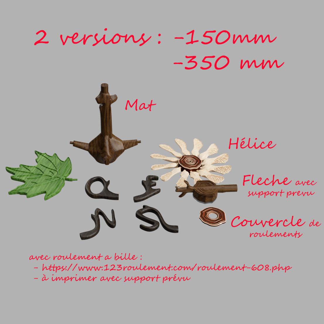 composition.jpg Télécharger fichier STL girouette  • Plan pour impression 3D, micaldez