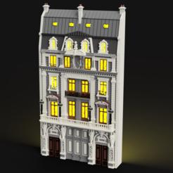 Descargar archivos 3D El edificio Haussmanian, micaldez
