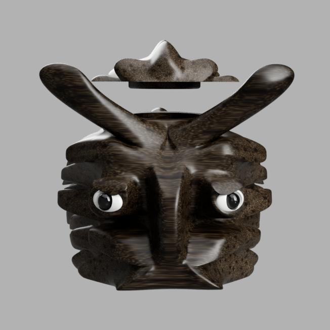 poiss_cof face.png Télécharger fichier STL gratuit poisson-coffre à bijoux • Modèle pour imprimante 3D, micaldez