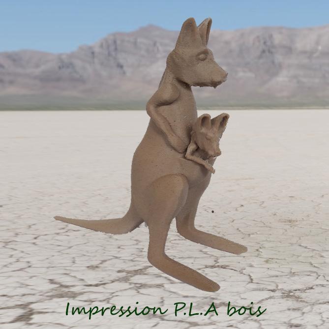 kangourou_2019-Sep-.jpg Télécharger fichier STL gratuit kangourou • Plan à imprimer en 3D, micaldez
