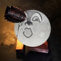 Télécharger plan imprimante 3D lune de chevet, micaldez