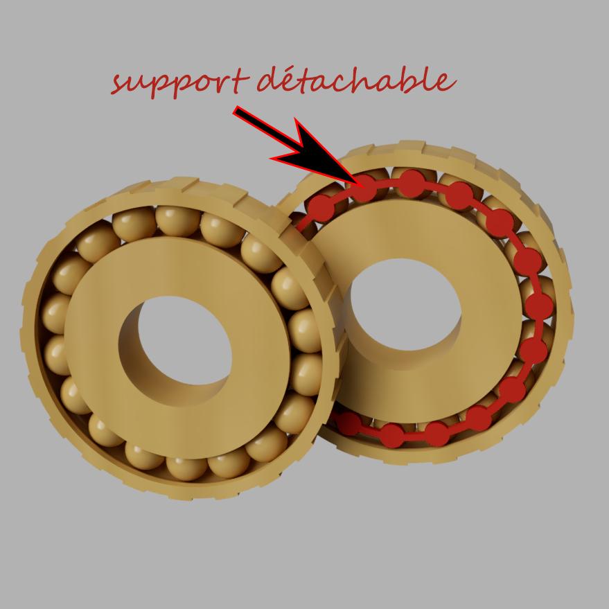 roulement.PNG Télécharger fichier STL girouette  • Plan pour impression 3D, micaldez