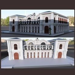 vue 1.jpg Download STL file Montparnasse station • 3D printing object, micaldez