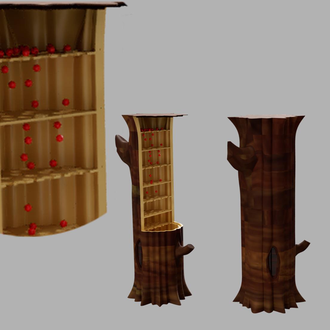 arbre à pluie.jpg Télécharger fichier STL gratuit Arbre à pluie • Objet imprimable en 3D, micaldez
