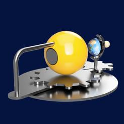 tellurium 2.png Download STL file tellurium • 3D print object, micaldez