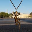 Download free 3D print files salamander pendant, micaldez