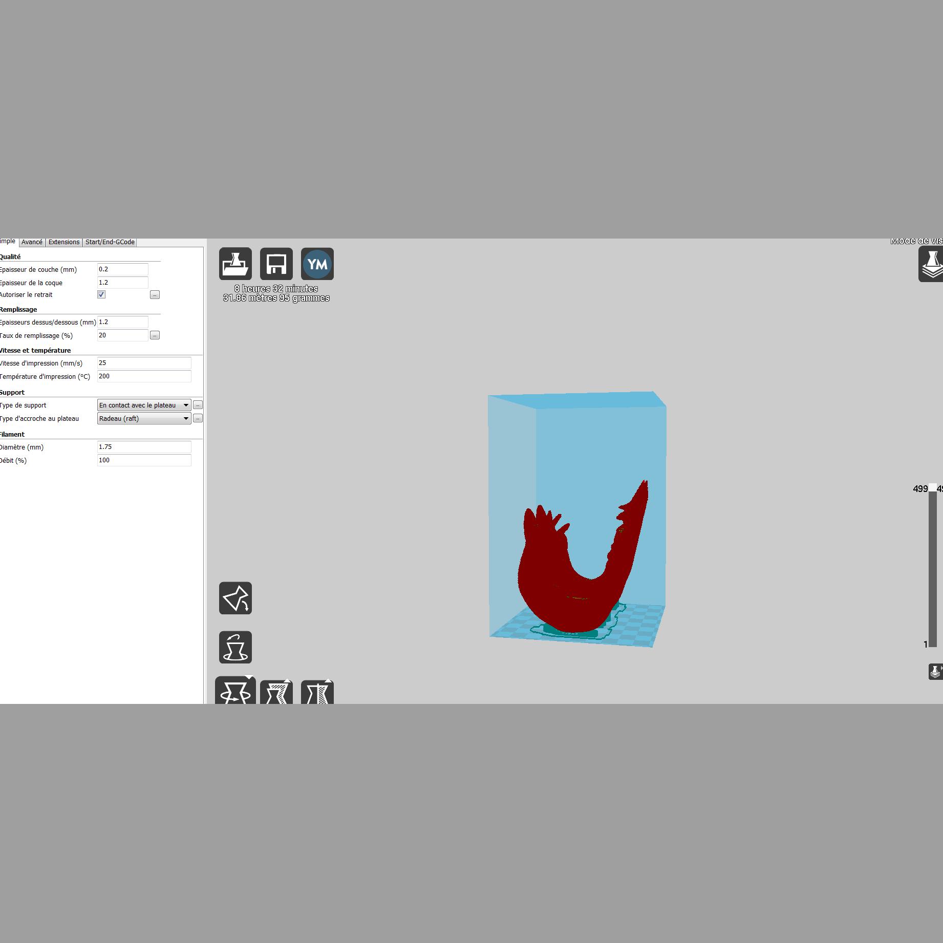 2019-08-03 20_43_32-Cura - 15.04.png Télécharger fichier STL gratuit support vague • Design pour imprimante 3D, micaldez