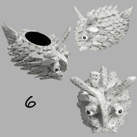 poisson coffre à bijoux 6.jpg Télécharger fichier STL gratuit poisson-coffre à bijoux • Modèle pour imprimante 3D, micaldez