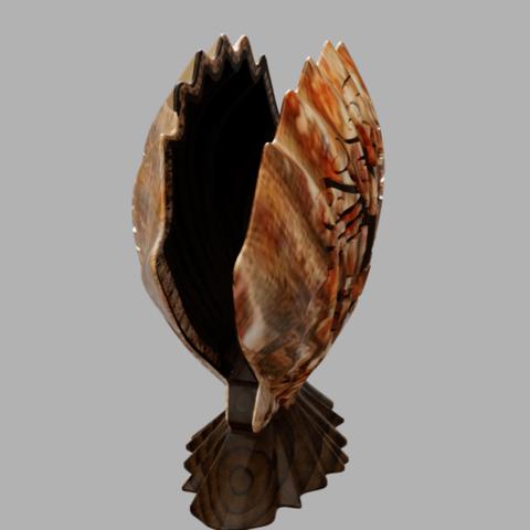 coquille 2 profil.png Download free STL file towel holder shell • 3D printable template, micaldez
