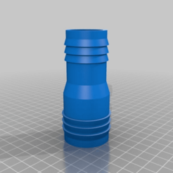 7c2b1c6362f7557c528cb3f3ac68cd42.png Download free STL file My Customized Hose adapter configurable • 3D print template, papygous