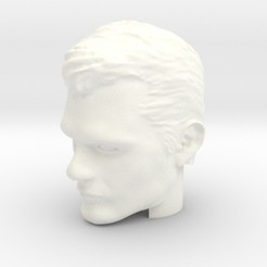 Download 3D printing templates Superman Head | Henry Cavill, ArclightWorkshop