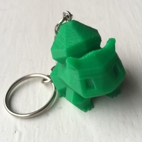 3b8985235c58f519c0dcbade69e5f18b_preview_featured.jpg Télécharger fichier STL gratuit Porte-clés REMIX en Poly Bulbasaur - adapté aux petites impressions. • Plan à imprimer en 3D, ranibizumab