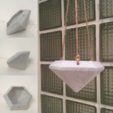 Download free 3D print files Diamond Hanging Planter, ranibizumab