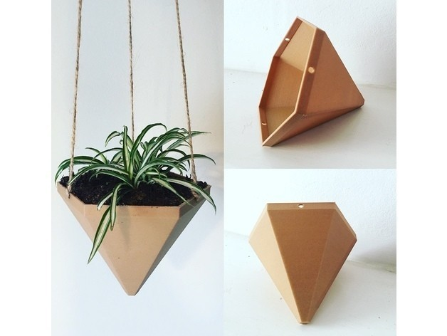 66de5fc1f20970adc35ba9744e316eec_preview_featured.jpg Download free STL file Hexagonal Based Pyramid Hanging Planter • 3D printable object, ranibizumab