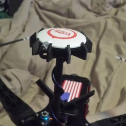 Download 3D printing models GPS Puck Holder DJI NAZA, zugmunt