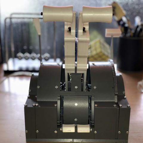 3D printer models 737 Throttle Quadrant , radisce