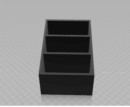 organisateur de table de nuit face.png Download free STL file Organizer of bedhead • 3D printable model, DL3D-MAKER