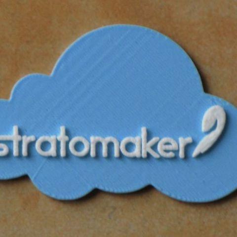 Télécharger fichier 3D gratuit STRATOMAKER sur un nuage, strettajm