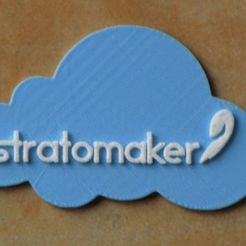 Free 3D printer model STRATOMAKER on a cloud, strettajm