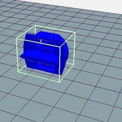Descargar Modelos 3D para imprimir gratis pieza de soporte del cepillo para el pequeño circuito de coche de bucle, wilfranck