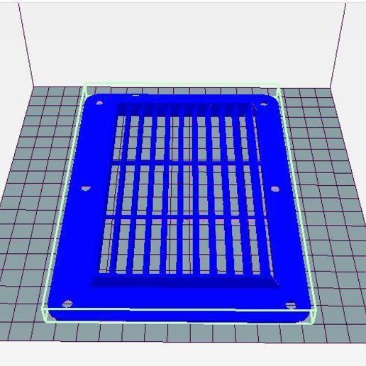 grille 170x120.JPG Télécharger fichier STL gratuit grilles de ventilation 3 modèles (ronde, rectangle et carrée) • Design imprimable en 3D, wilfranck