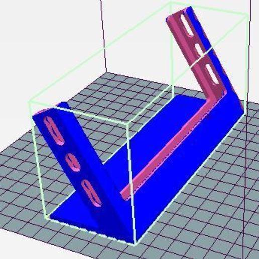 Télécharger modèle 3D gratuit support horizontal iphone 6/7/8 avec housse, wilfranck