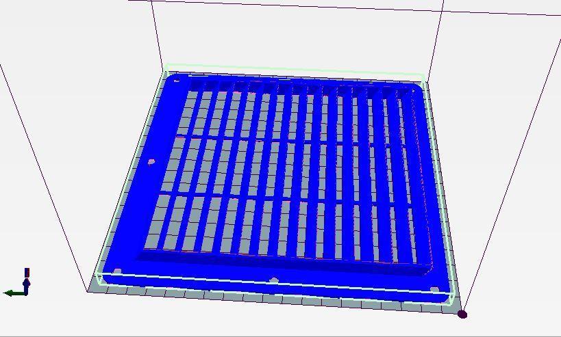 grille 180.JPG Télécharger fichier STL gratuit grilles de ventilation 3 modèles (ronde, rectangle et carrée) • Design imprimable en 3D, wilfranck