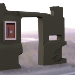 main.png Download STL file Desert Building Doorway for Star Wars Diorama • 3D printable template, AnthonyVanVolkinburg