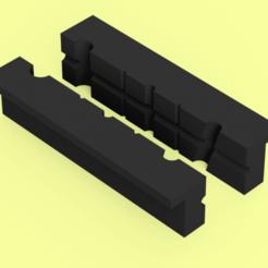 vise protector v1.png Télécharger fichier STL Protecteur d'étagères • Design pour imprimante 3D, AnthonyVanVolkinburg