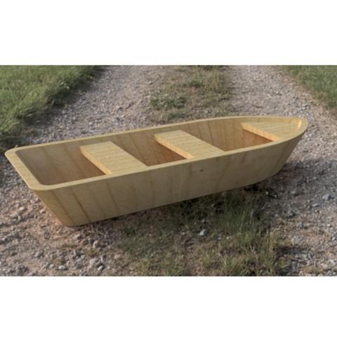 F9948394-D84A-496B-A5BD-5814A9399DF4.jpeg Download STL file UPDATED - Wooden Paddle Boat • 3D printable design, AnthonyVanVolkinburg