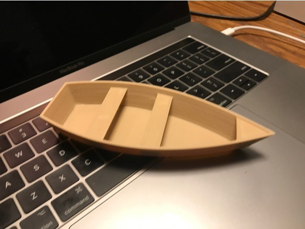 421b89ced901f85c56bf9f314ff594a7_preview_featured.jpeg Download STL file UPDATED - Wooden Paddle Boat • 3D printable design, AnthonyVanVolkinburg