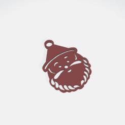 SILUETA PAPA NOEL.png Télécharger fichier STL PAPA NOEL SANTA CLAUS Boucles d'oreilles, boucles d'oreilles, boucles d'oreilles • Objet pour impression 3D, crivi000