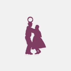 danza_folklore1.png Télécharger fichier STL boucles d'oreilles folklore / Boucles d'oreilles folklore • Plan pour imprimante 3D, crivi000