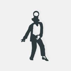 Michael-jackson1.png Télécharger fichier STL Boucles d'oreilles Michael Jackson / Boucles d'oreilles Michael Jackson. • Modèle à imprimer en 3D, crivi000