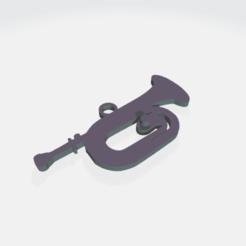 CORNETA2.png Download STL file BUGLE, CORNET INSTRUMENT • 3D printing design, crivi000